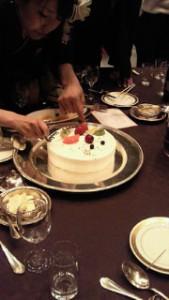 ケーキトッピング大会①